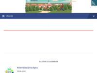 Slika naslovnice sjedišta: Križevci On Line (http://www.krizevci.hr/)
