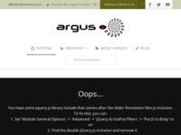 Slika naslovnice sjedišta: Argus - sredstva za samoobranu (http://www.suzavac-argus.com/)