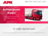 Slika naslovnice sjedišta: Autoprijevoz Kljajić (http://www.autoprijevoz-kljajic.hr/)
