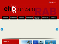Frontpage screenshot for site: Ehoturizam (http://tourism.eho.hr/)
