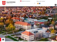 Slika naslovnice sjedišta: Grad Novska (http://www.novska.hr/)