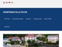 Frontpage screenshot for site: Apartmani na moru, otok Rab (http://www.villa-sylvie.com/)