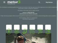 Slika naslovnice sjedišta: Merkur osiguranje d.d. (http://www.merkur.hr)
