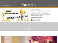 Frontpage screenshot for site: (http://www.ho-kom.hr/)