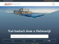 Frontpage screenshot for site: Terra Dalmatica d.o.o. (http://www.terradalmatica.hr)