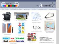 Slika naslovnice sjedišta: Astroida d.o.o. (http://www.astroida.hr)