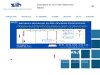 Slika naslovnice sjedišta: ZIH - Centar za poslovnu izvrsnost (http://www.zih.hr)