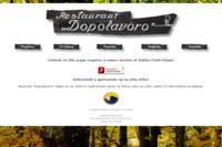 Frontpage screenshot for site: Restoran Dopolavoro - Učka - Istra (http://www.dopolavoro.hr)