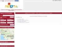 Frontpage screenshot for site: Apartmani Zagreb (http://www.zagrebapartments.biz)