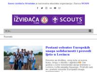 Slika naslovnice sjedišta: Savez izviđača Hrvatske (http://www.sih.hr)