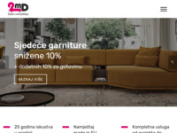 Slika naslovnice sjedišta: Saloni namještaja 2md (http://www.2md.hr/)