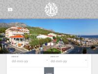 Frontpage screenshot for site: Hotel Laurentum (http://www.hotellaurentum.com)