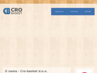 Slika naslovnice sjedišta: Crobasket d.o.o. (http://www.crobasket.hr)