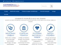 Frontpage screenshot for site: Elektroničar d.o.o. (http://www.elektronicar.hr)