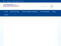Slika naslovnice sjedišta: Elektroničar d.o.o. (http://www.elektronicar.hr)