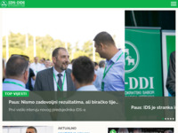 Frontpage screenshot for site: Istarski demokratski sabor (IDS) (http://www.ids-ddi.com/)