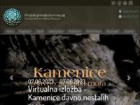 Frontpage screenshot for site: Hrvatski prirodoslovni muzej (http://www.hpm.hr)