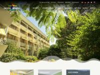 Frontpage screenshot for site: Hotel Kimen (http://www.hotel-kimen.com)