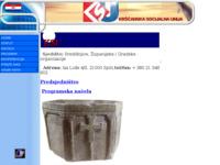 Frontpage screenshot for site: Kršćanska socijalna unija (http://free-st.htnet.hr/KSU/)
