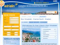 Slika naslovnice sjedišta: Novi Vinodolski (http://www.kroatien-adrialin.de/ortsinfos/novi-vinodolski/)