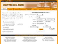 Frontpage screenshot for site: Dubrovnik area online (http://www.dubrovnik-area.com)