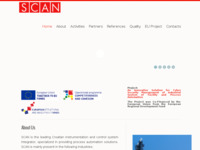 Frontpage screenshot for site: S.C.A.N. (http://www.scan.hr)