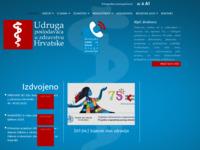 Slika naslovnice sjedišta: Udruga poslodavaca u zdravstvu (http://www.upuz.hr/)