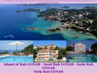 Frontpage screenshot for site: Apartmani Snježana Gonar, Rab (http://apartments-snjezana-rab.com)
