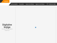 Frontpage screenshot for site: Digitalne-knjige.com (http://www.digitalne-knjige.com/)
