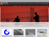 Frontpage screenshot for site: Armirač d.o.o. (http://www.armirac.hr)