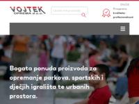 Frontpage screenshot for site: Vojtek d.o.o,  Beli Manastir (http://www.vojtek.hr/)