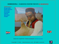 Frontpage screenshot for site: Izvorni narodni glazbeni instrumenti (http://www.komazec.com/)