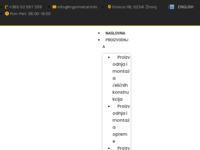Frontpage screenshot for site: Trgometal d.o.o. - Žminj (http://www.trgometal.info/)