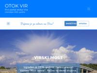 Slika naslovnice sjedišta: Portal otoka Vira (http://www.otok-vir.info)