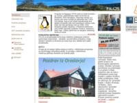 Slika naslovnice sjedišta: Poduzece za proizvodnju aplikativnog softvera. (http://www.filos.com)