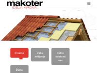 Slika naslovnice sjedišta: Makoter krovopokrivačko-građevinski obrt (http://www.makoter.hr/)