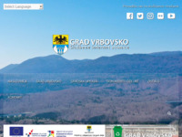 Slika naslovnice sjedišta: Službeni internet portal grada Vrbovskog (http://www.vrbovsko.hr)