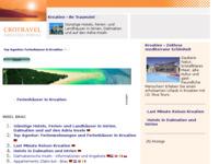 Slika naslovnice sjedišta: Brač - katalog linkova (http://www.kroatien-links.de/insel-brac.htm)