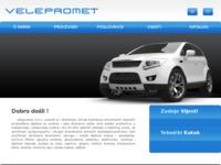 Slika naslovnice sjedišta: Velepromet d.o.o. (http://www.velepromet.hr/)