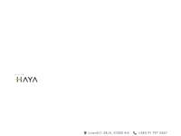 Frontpage screenshot for site: Apartmani Villa Haya (http://www.villahaya.com/)