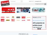 Slika naslovnice sjedišta: Tena-G d.o.o. (http://www.tena-g.hr/)
