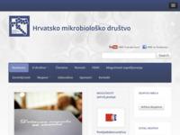 Slika naslovnice sjedišta: Hrvatsko mikrobiološko društvo (http://www.hmd-cms.hr/)