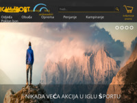 Frontpage screenshot for site: Iglu šport (http://www.iglusport.hr/)