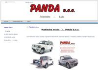Slika naslovnice sjedišta: Panda d.o.o. (http://panda.hr/cms/)