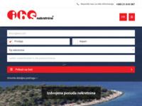 Frontpage screenshot for site: Ibs nekretnine (http://www.ibs-nekretnine.hr/)