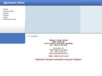 Frontpage screenshot for site: Apartmani Arlant na otoku Braču (http://www.arlant.net)