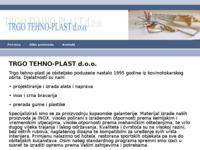 Frontpage screenshot for site: Trgo Tehno Plast d.o.o. (http://www.trgo-tehno-plast.hr/)