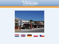 Frontpage screenshot for site: Venecija (http://www.venecija.hr/)