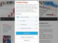 Frontpage screenshot for site: (http://www.ljepila.com)