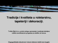 Frontpage screenshot for site: Slak d.o.o. (http://www.slak.com.hr/)